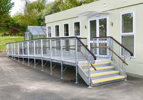 Access Solutions Modular Concrete Steps, Ramps and Walkways